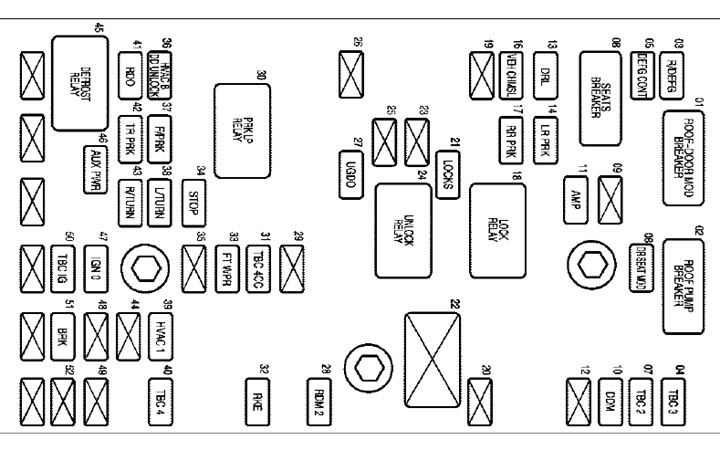chevy truck fuse block diagrams automotive wiring diagrams 330337d1462235362 fuse box cover part number 04 fuse