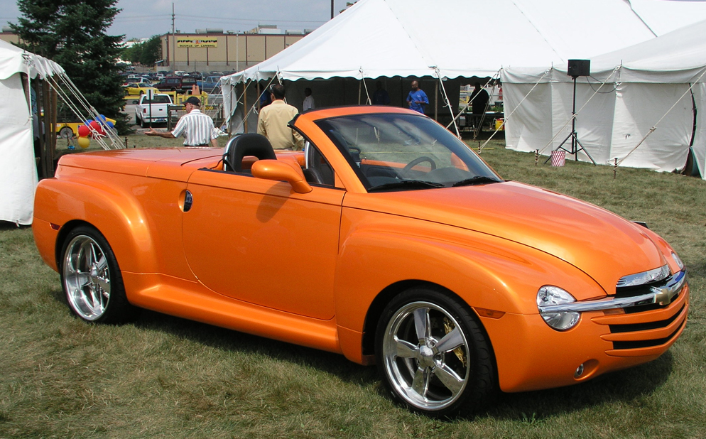 Chevy ssr colors