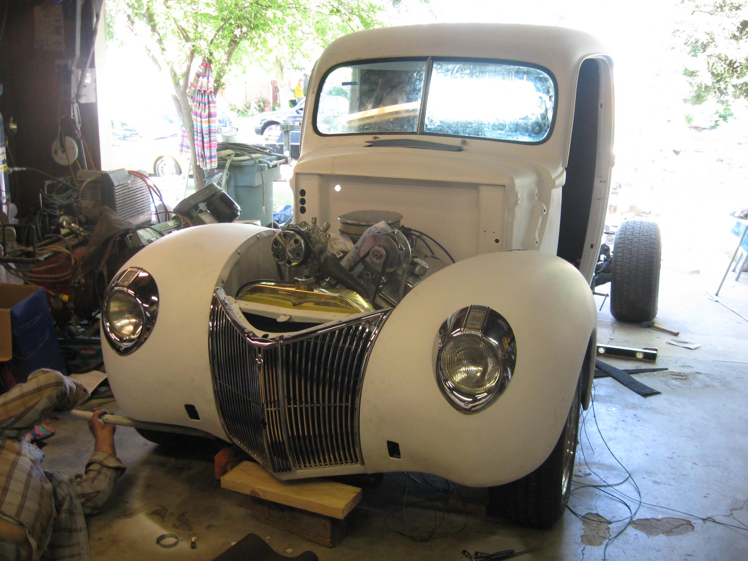 1940 Ford Pickup Build Progress - Page 12 - Chevy SSR Forum