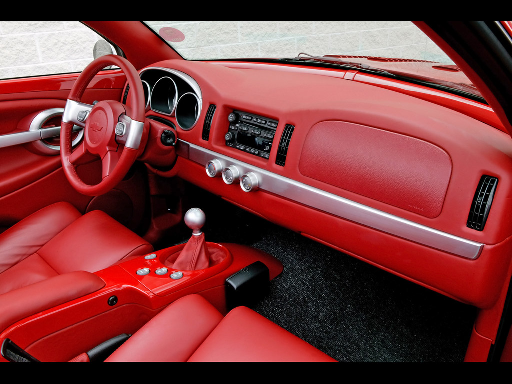 Ever hear of a Red interior from the Factory on a 2006 Chevy SSR