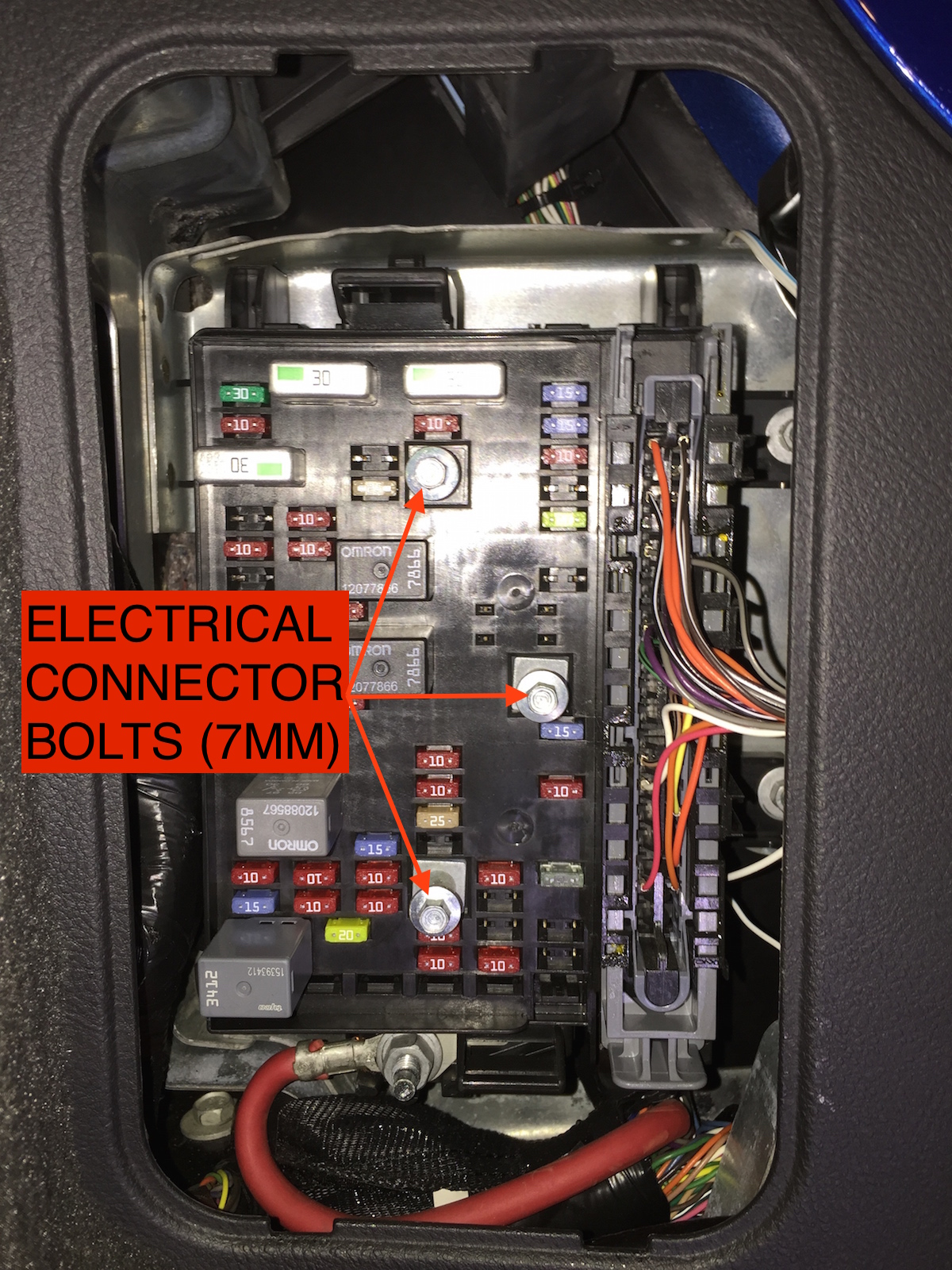 chevy ssr fuse box location today wiring diagram
