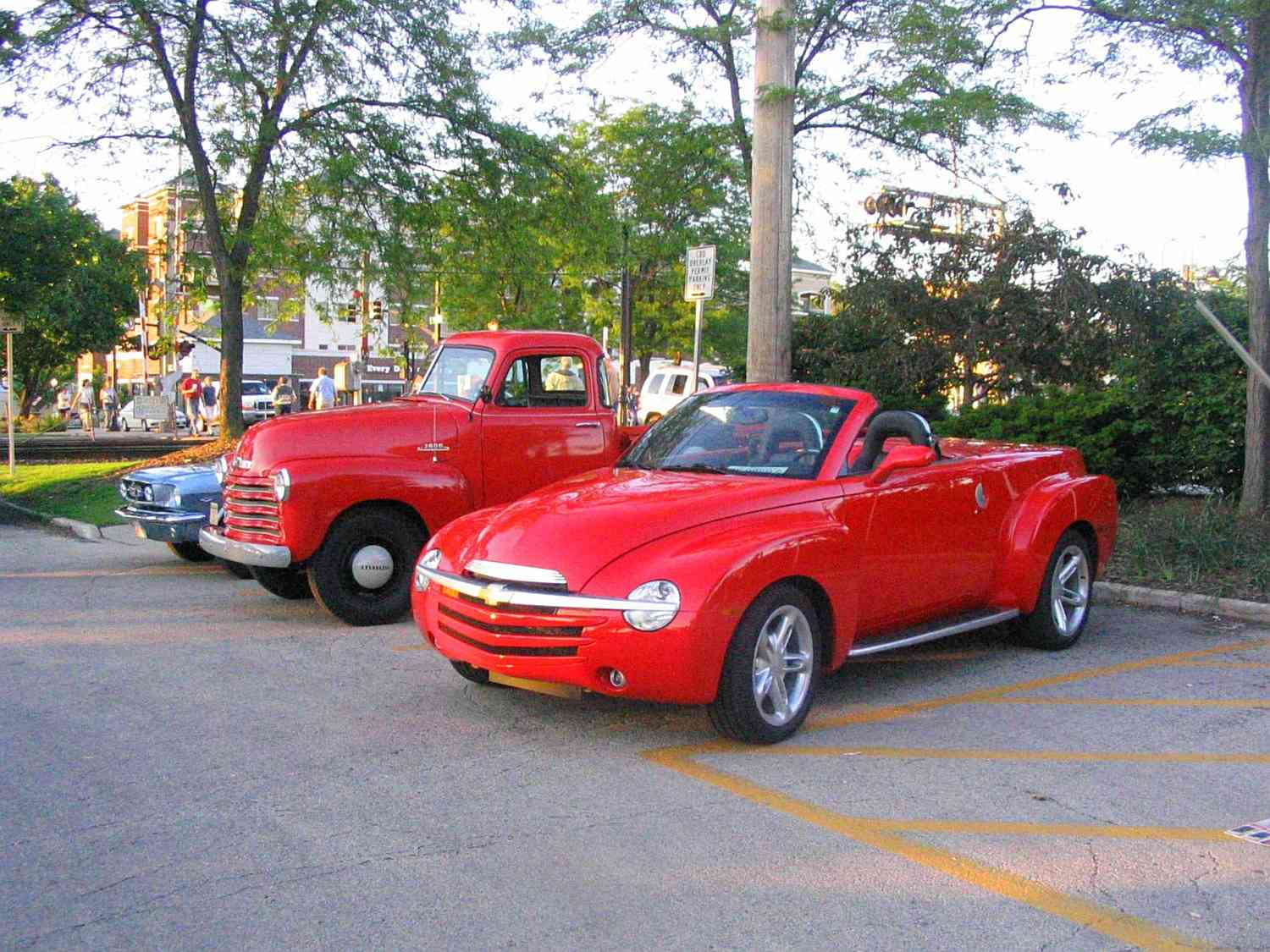 MY SSR, 53 Chevy truck, and a car show( Pics) - Chevy SSR Forum