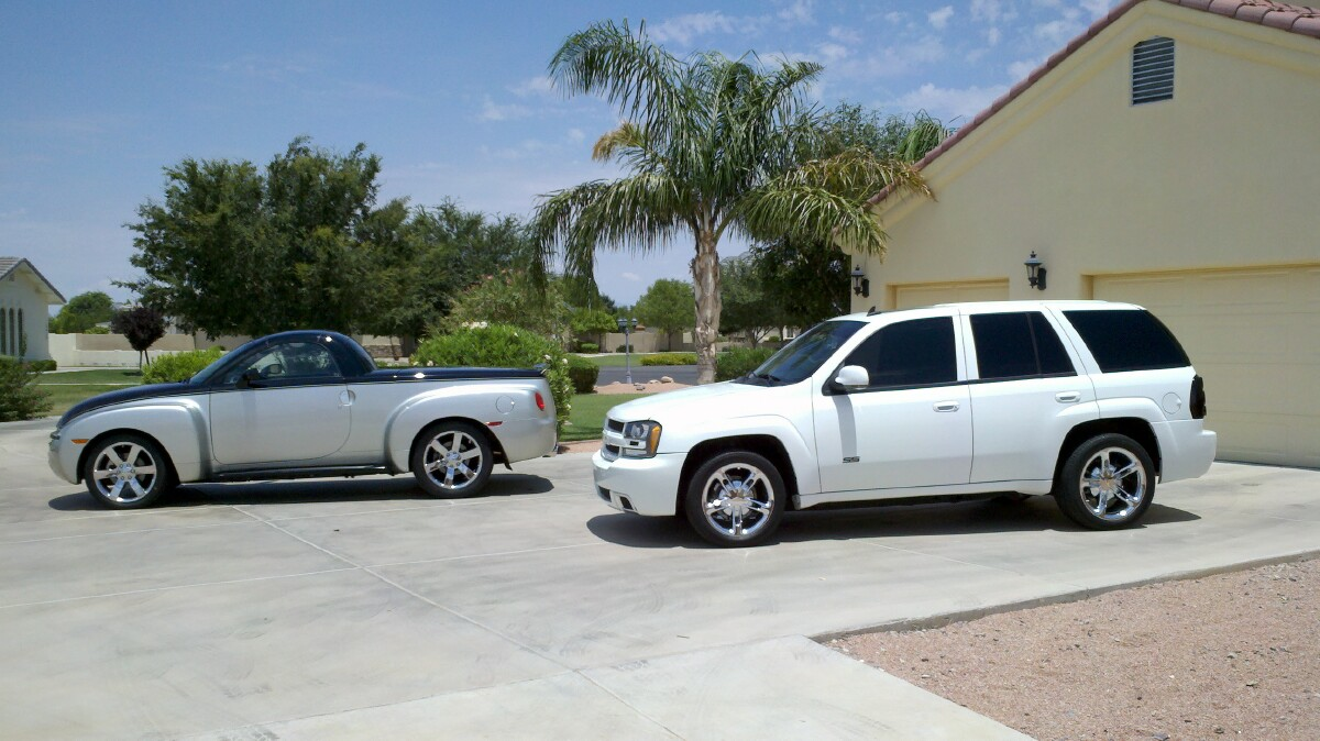 Chevy 2012 chevy trailblazer : 20 Inch Trailblazer SS Wheels on SSR? - Chevy SSR Forum