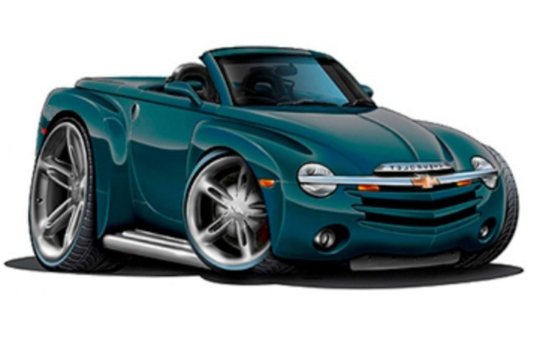 Looking for More Muscle Car Art .. part ll - Chevy SSR Forum