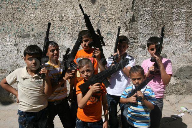 gun control issue at Cabela's-boys-guns.jpg