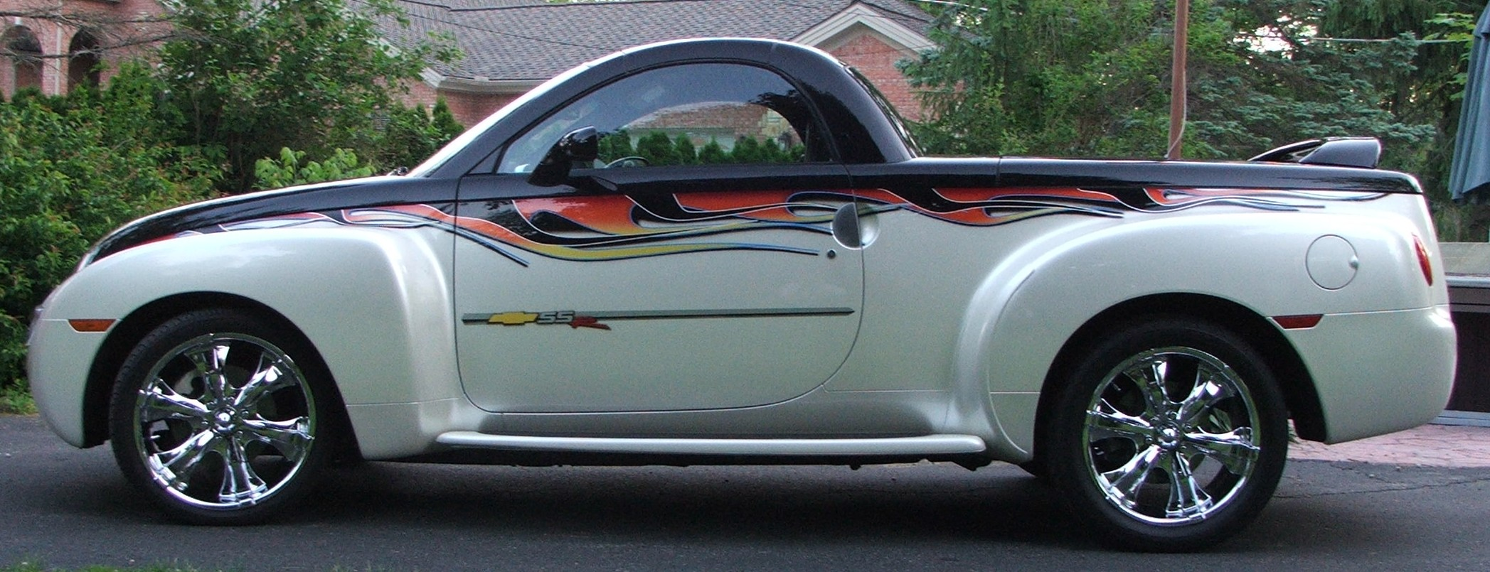 All Chevy 2006 chevrolet ssr for sale : Custom perl white SSR for sale - Chevy SSR Forum
