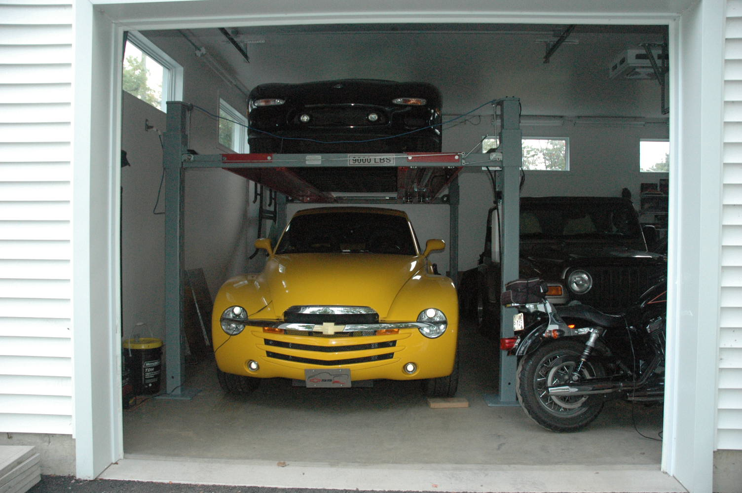 Garage Floor And Lift Chevy SSR Forum - Backyard buddy lift prices