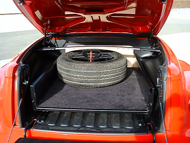 Truck Bed Slide Out >> SSR Spare Tire for Bed of Truck - Chevy SSR Forum
