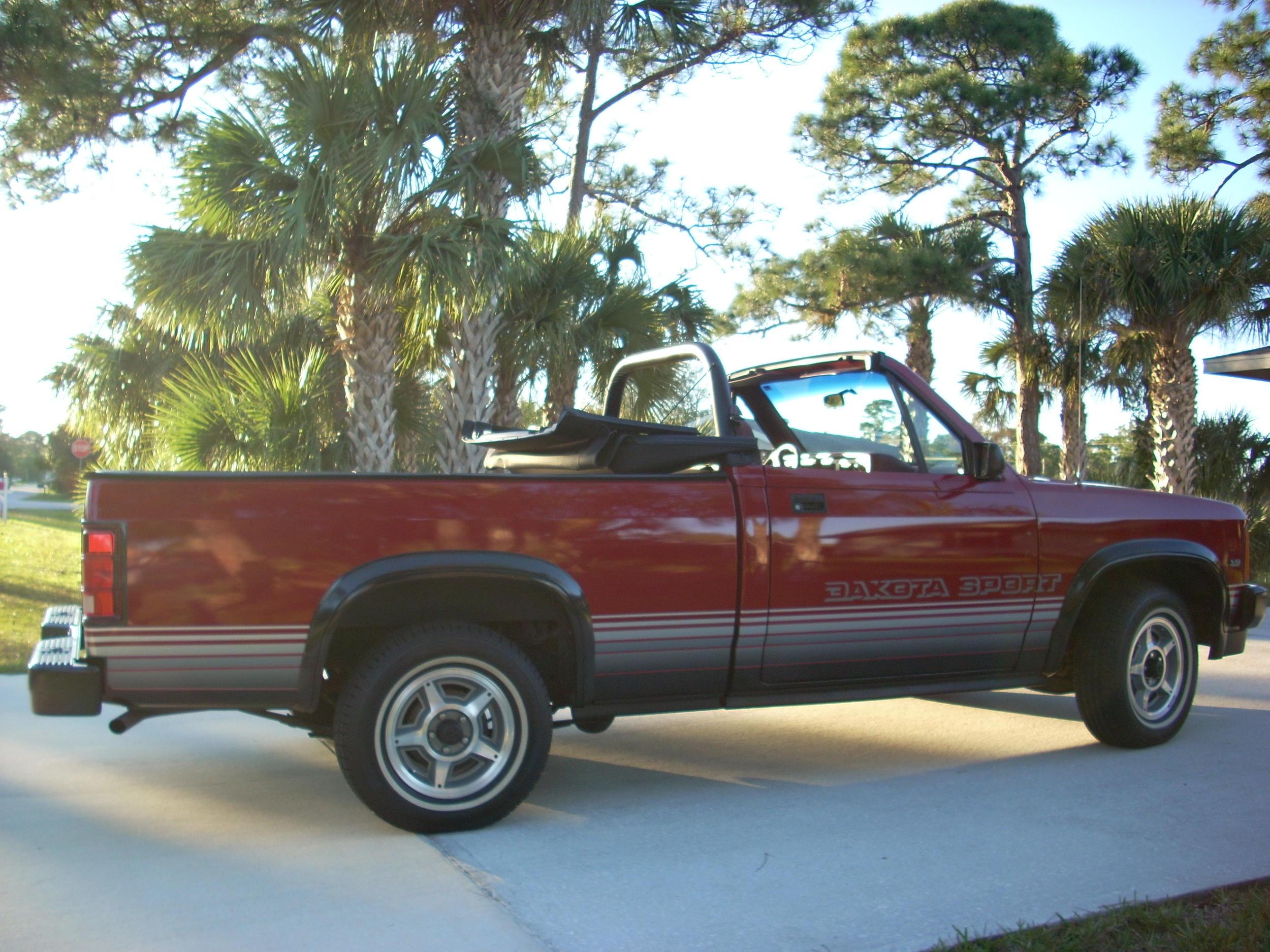 D Dodge Dakota Sport Convertible Sale Dscn on 1989 Dodge Dakota Convertible For Sale