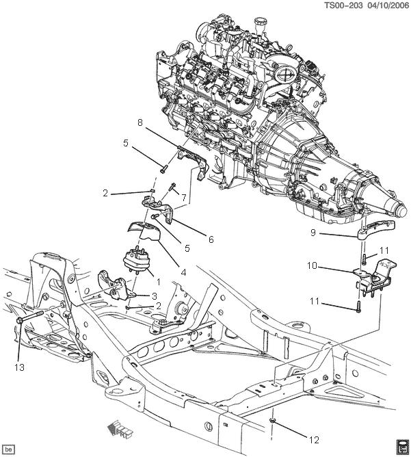 2003 Ssr Engine Mounts Discontinued Chevy Ssr Forum