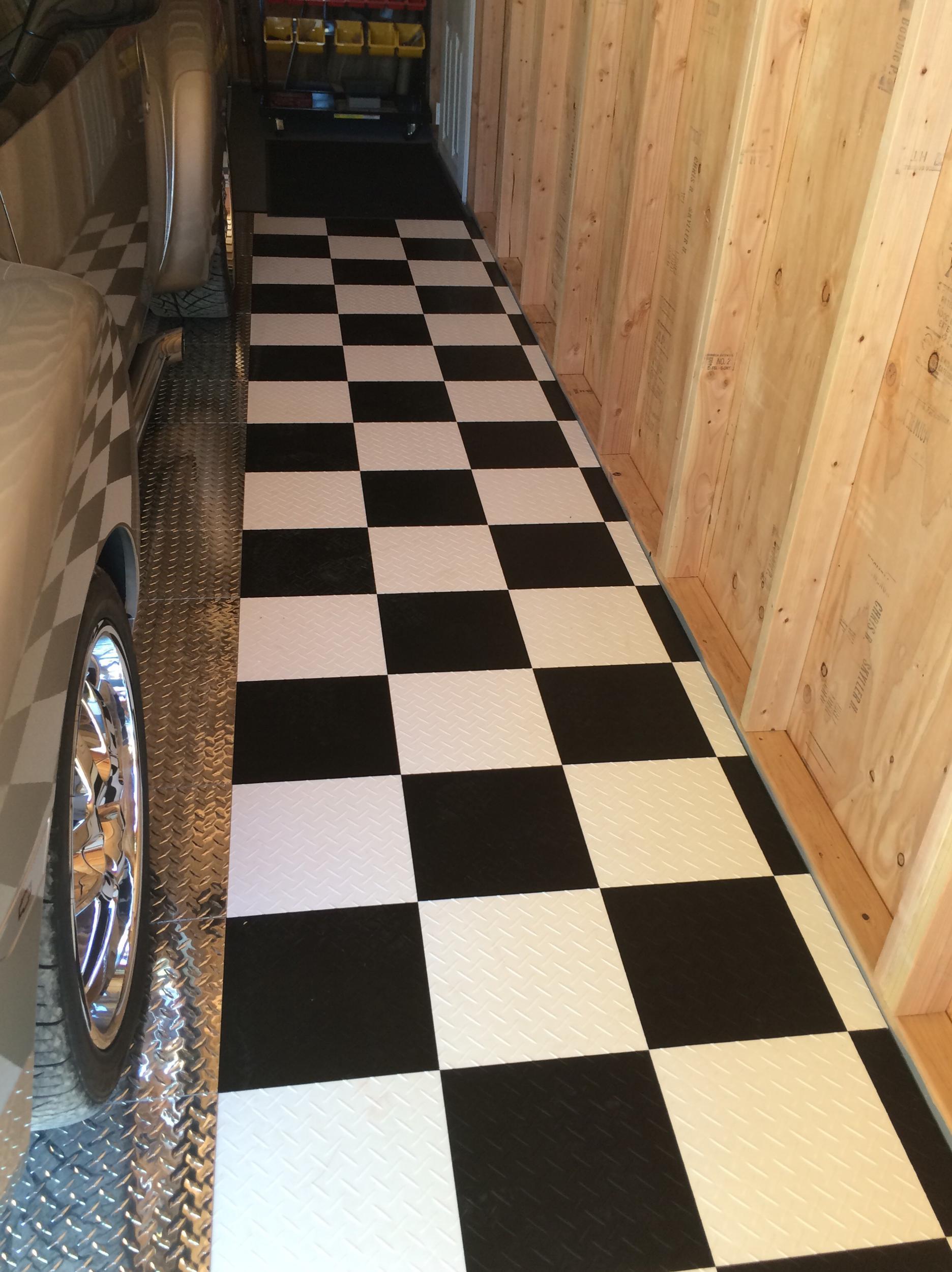 garage floor and lift chevy ssr forum