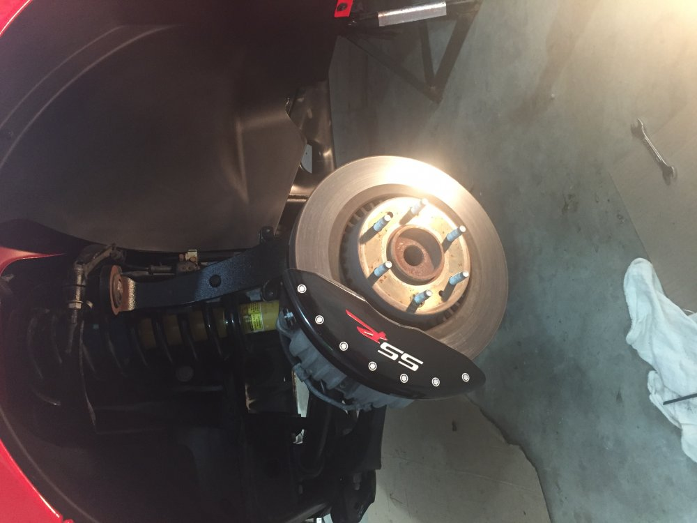 Mpd caliper covers install | Chevy SSR Forum