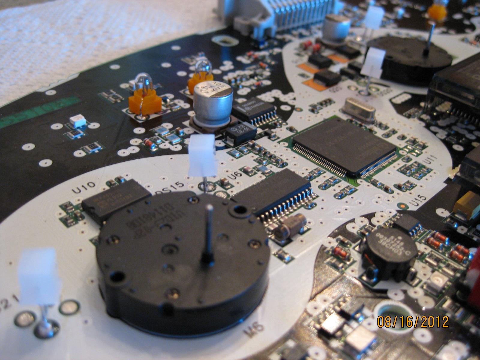 chevy instrument panel repair