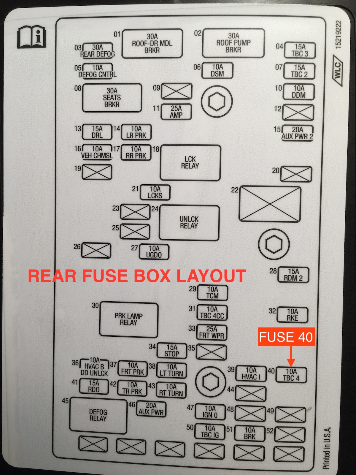 Ssr Fuse Box Manual E Books 2004 Chevrolet Trailblazer Diagram Under Seat Rear 101 Chevy Forumclick Image For Larger Version Name Img 2200 Copy 2