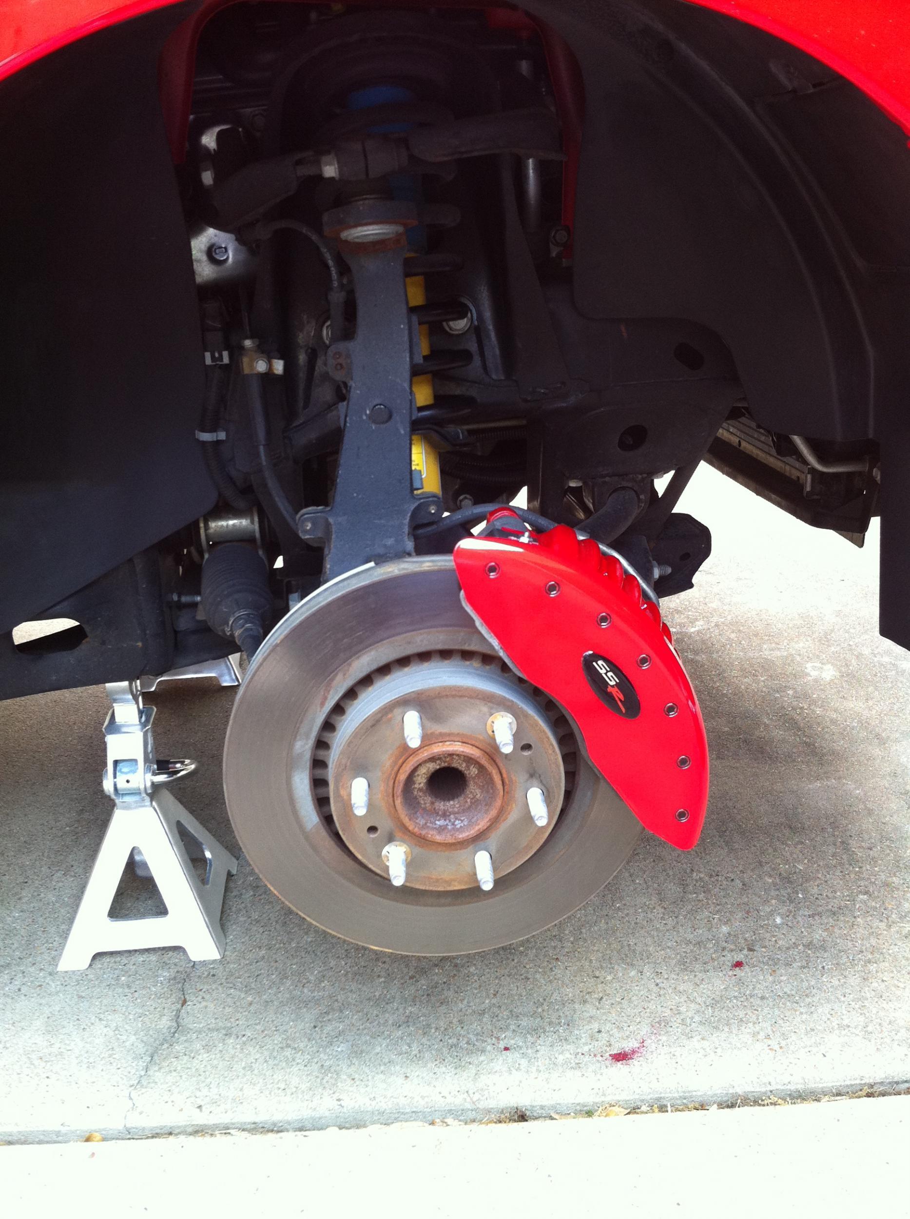 Brembo Brake Caliper Covers Chevy Ssr Forum
