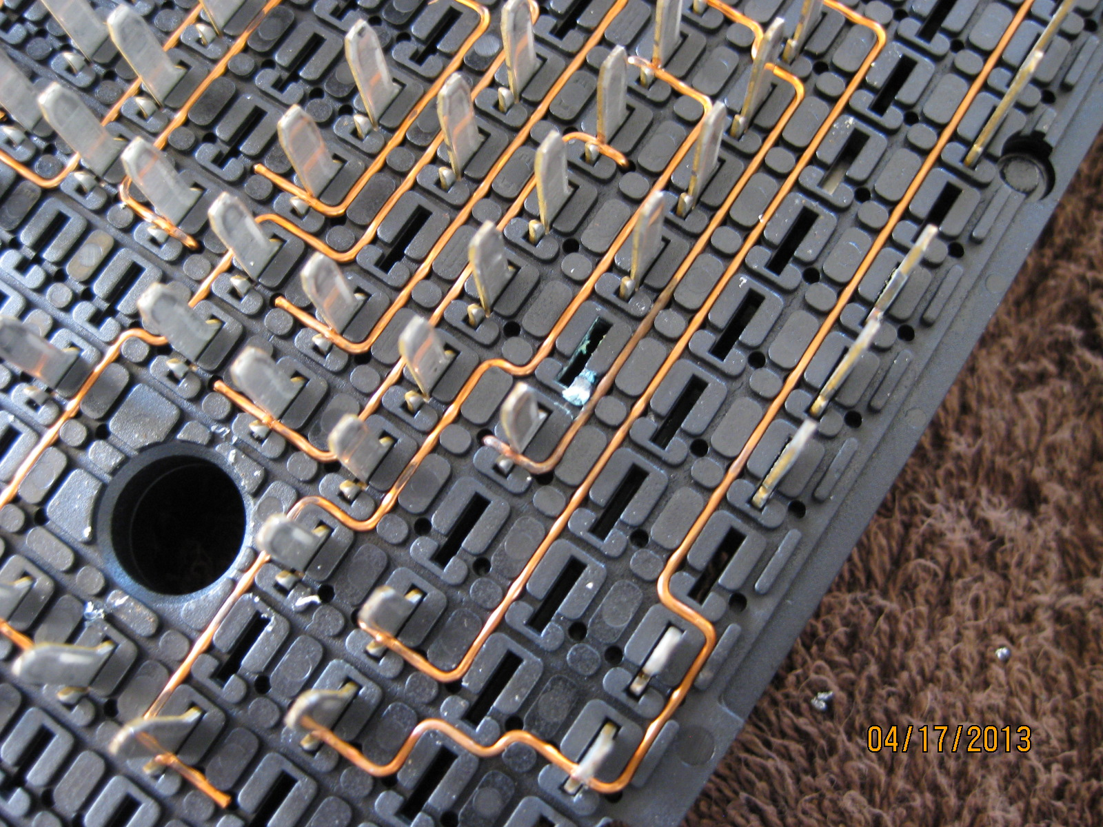 gm fuse box disassembly main engine fuse box problem pictures chevy ssr forum  main engine fuse box problem pictures