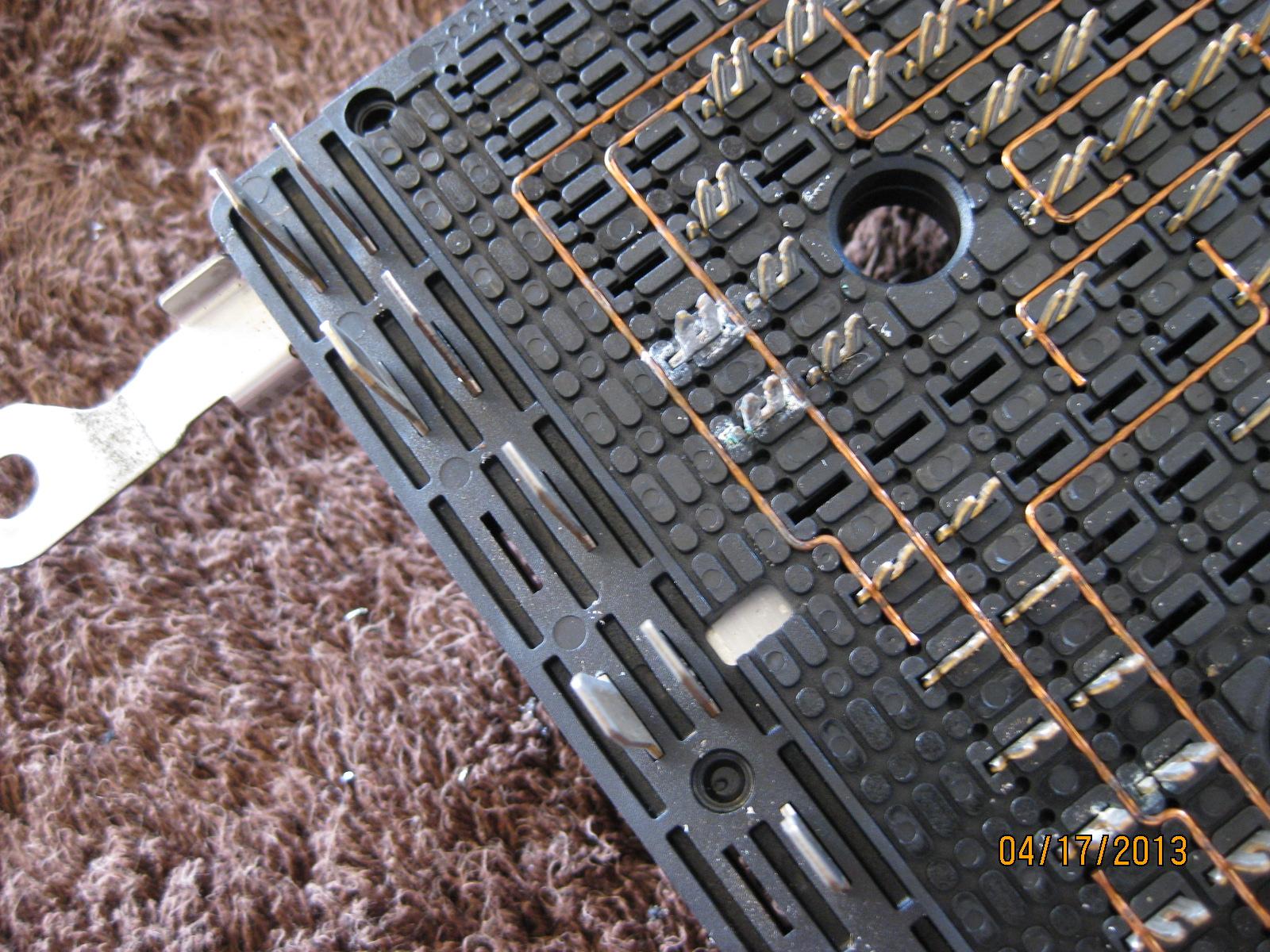 fuse box corrosion?? - chevy ssr forum gm fuse box corrosion #2