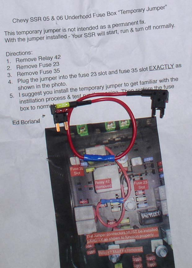 chevy ssr fuse box location chevy s10 fuse box location chevy ssr forum - view single post - fuse box engine ... #11