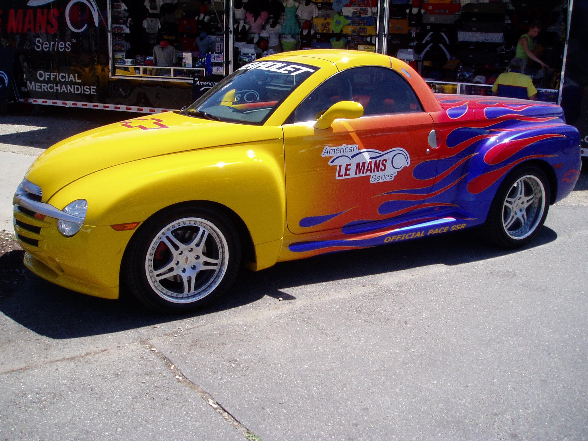 Ssr Le Mans Pace Car Pics Chevy Ssr Forum