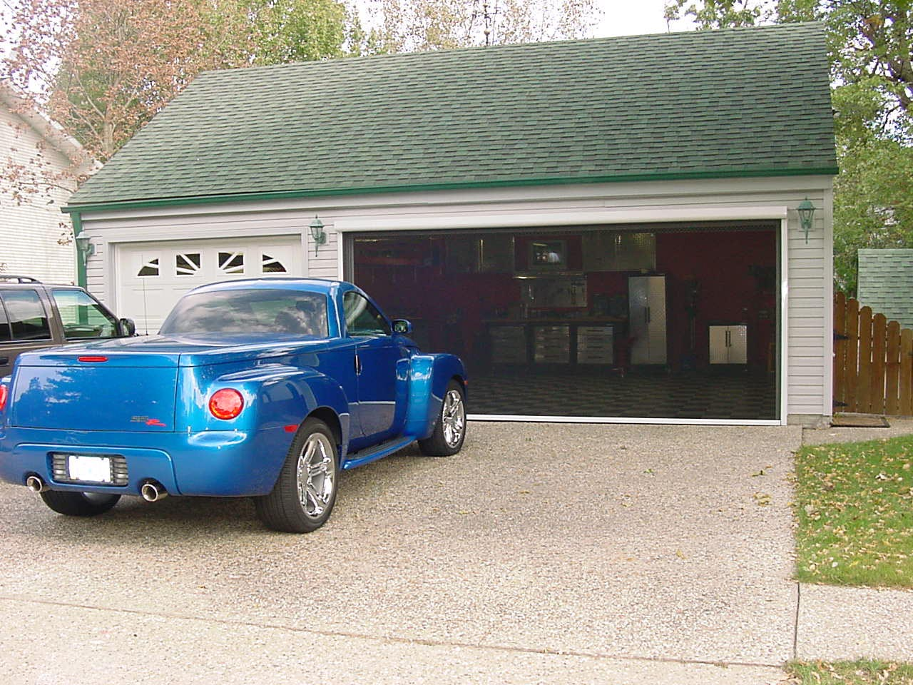 jim g adds a rotary lift to the dream garage chevy ssr forum