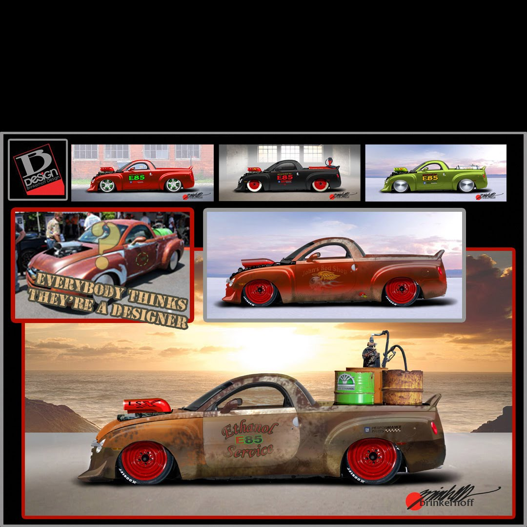 Rat rod SSR - interesting