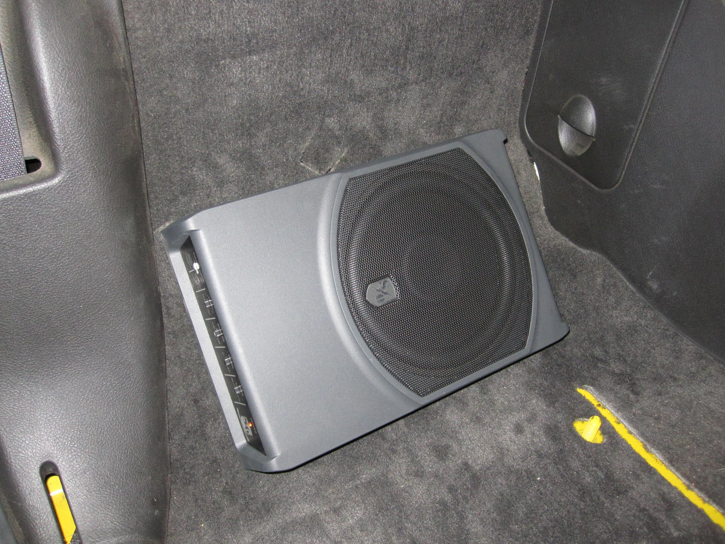 Speakers behind the seats/ subwoofer - Chevy SSR Forum