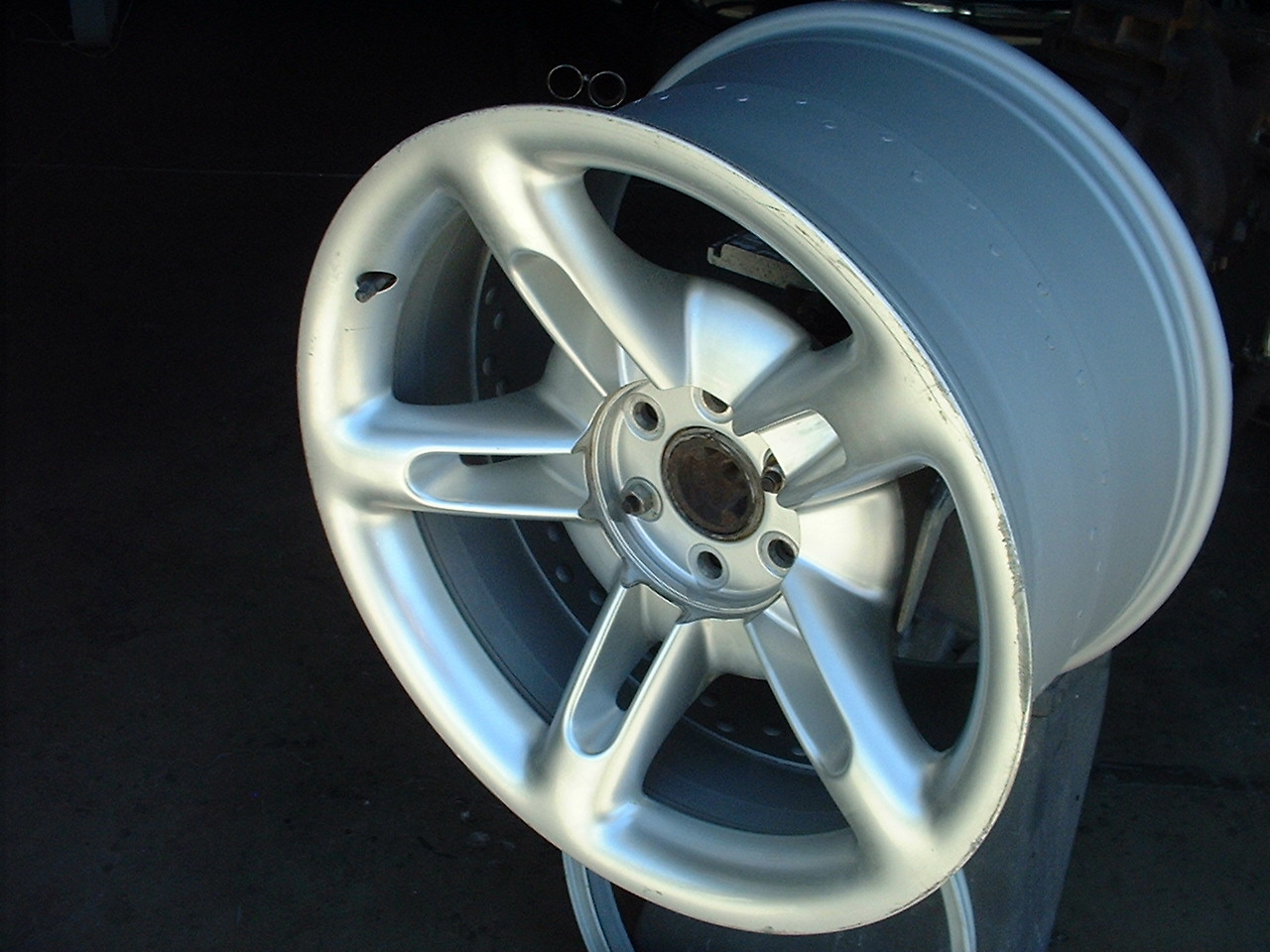 Wider rear tires project by ZZR. - Chevy SSR Forum