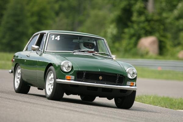Showcase cover image for MGB GT
