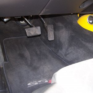 Drivers side floor board